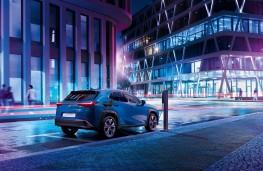 Lexus UX, 2019, rear