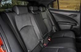Lexus UX 250h, 2021, rear seats
