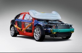 Volvo V40, pedestrian airbag