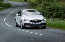 Volvo V40 Cross Country, 2017, front, action