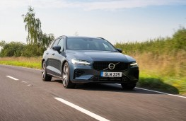 Volvo V60 T6 Recharge, 2021, front, action