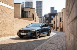 Volvo V60 T6 Recharge, 2021, front, static