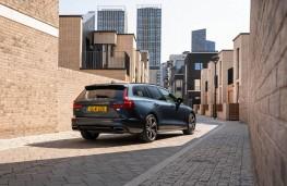 Volvo V60 T6 Recharge, 2021, rear, static