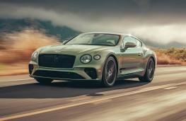 Bentley Continental V8, 2019, front