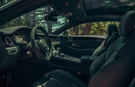 Bentley Continental V8, 2019, interior