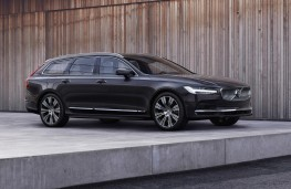 Volvo V90 Recharge, 2021, front