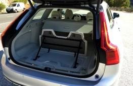 Volvo V90, 2016, boot, bag attachment