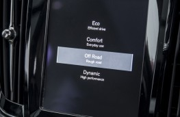 Volvo V90 Cross Country, 2017, screen, off road mode