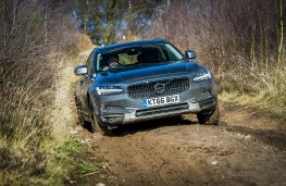 Volvo V90 Cross Country, 2017, off road, front