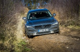 Volvo V90 Cross Country, 2017, off road, track
