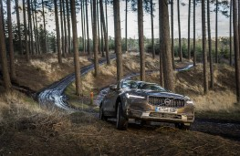 Volvo V90 Cross Country, 2017, off road, forest