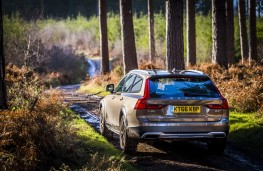 Volvo V90 Cross Country, 2017, off road, rear