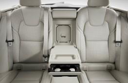 Volvo V90, 2016, rear seats