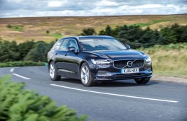 Volvo V90, side, action