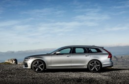 Volvo V90 T5 R-Design, 2018, side, static