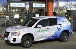 Chevrolet Equinox, refuelling