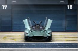 Aston Martin Valkyire Spider, 2021, nose
