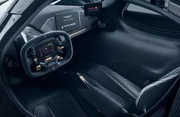 Aston Martin Valkyrie, 2017, interior