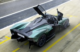 Aston Martin Valkyire Spider, 2021, overhead