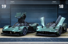 Aston Martin Valkyire Spider and Valkyrie, 2021, front