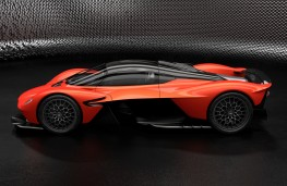 Aston Martin Valkyrie, 2019, side