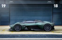 Aston Martin Valkyire Spider, 2021, side