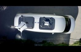 Mercedes-Benz Vision Van, drones