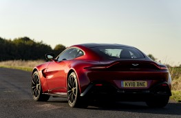 Aston Martin Vantage, 2018, rear, static