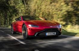 Aston Martin Vantage, 2018, front, action