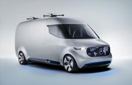 Mercedes-Benz Vision Van, front