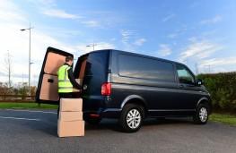 Volkswagen Transporter, loading