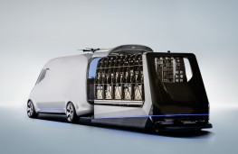 Mercedes-Benz Vision Van, loading module