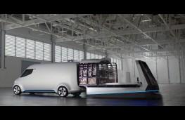 Mercedes-Benz Vision Van, modular loading