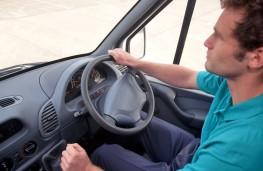 Van driver