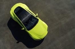 Aston Martin Vantage, 2018, overhead