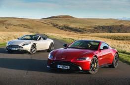 Aston Martin Vantage and DB11 Volante