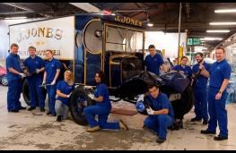 Dad's Army, Ford BB van restoration team