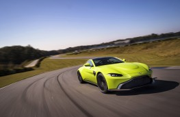 Aston Martin Vantage, 2018, front