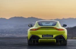 Aston Martin Vantage, 2018, rear