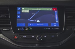 Vauxhall Astra, 2019, display screen