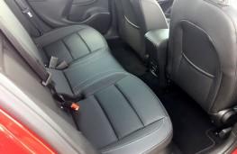 Vauxhall Astra, 2019, rear seats