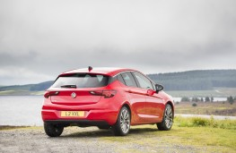 Vauxhall Astra, rear, static