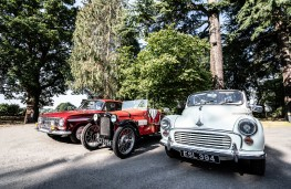 Young Driver classic car experience, 2021, Vauxhall VX490, Austin 7 and Morris Minor
