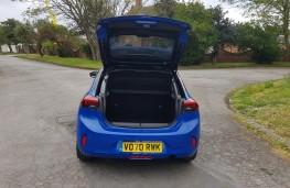 Vauxhall Corsa 1.2 Ultimate Nav, boot