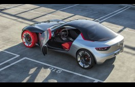 Vauxhall GT Concept, overhead