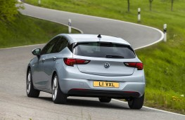 Vauxhall Astra 2020 rear action