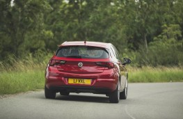 Vauxhall Astra, full rear action