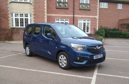 Vauxhall Combo Life XL, front static