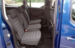 Vauxhall Combo Life, middle seats