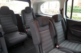 Vauxhall Combo Life XL, rear seats